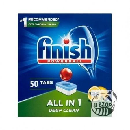 Finish All in one tabletki do zmywarki lemon 50szt