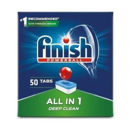 Finish All in one tabletki do zmywarki 50 szt
