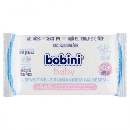 Bobini chusteczki Sensitive 60szt