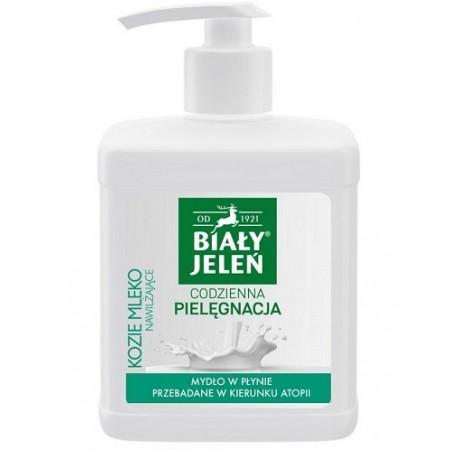 Biały Jeleń mydło w płynie kozie mleko 500 ml