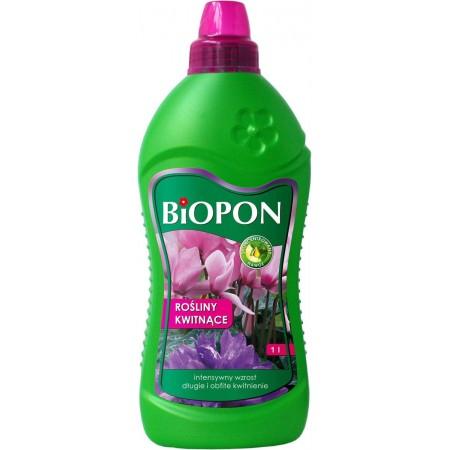 Biopon nawóz do roślin kwitnących 1L