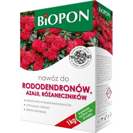 Biopon nawóz do rododendronów, azalii i różan. 1kg