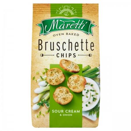 Bruschette Maretti śmietana z cebulą 70g