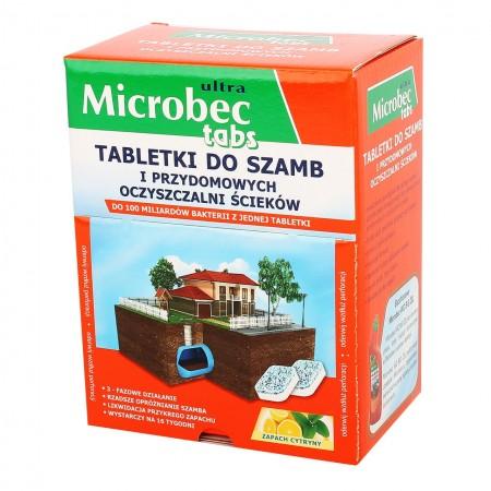 Microbec ultra tabletki do szamb 16x20g
