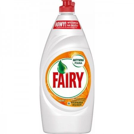 Fairy płyn do mycia naczyń pomarańcza 900ml
