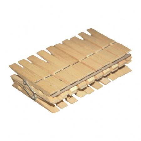 York klamerki drewniane 20szt