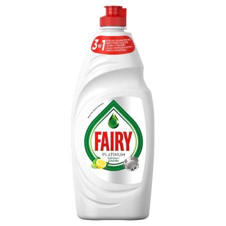 Fairy Platinum płyn do mycia naczyń cytryna 700ml