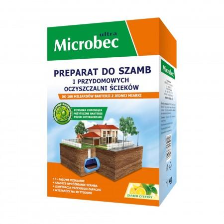 Microbec ultra preparat do szamb cytryna 1kg