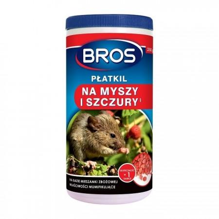 Bros płatkil trutka na myszy i szczury 250g