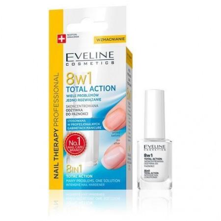 Eveline Nail Therapy Odżywka do paznokci 8w1