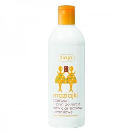 Ziaja Maziajki szampon i płyn do mycia dla dzieci