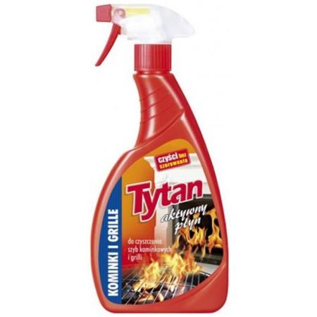 Tytan płyn do mycia grilli i szyb kominowych 1szt