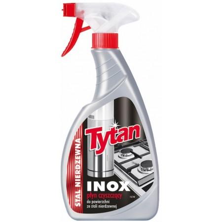 Tytan płyn INOX do czyszczenia stali nierdzewnej w sprayu o gramaturze 500g