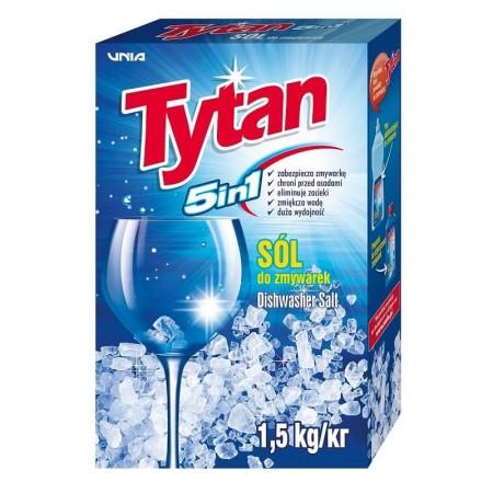 Tytan Sól do zmywarek 5w1 1,5kg 1szt