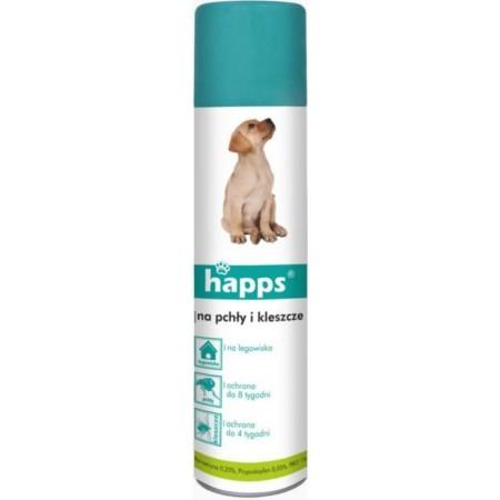 Happs spray na pchły i kleszcze w otoczeniu psów 1szt