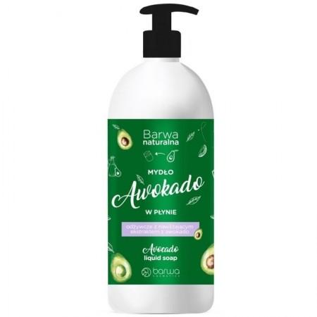 Barwa Naturalna mydło w płynie awokado 500ml