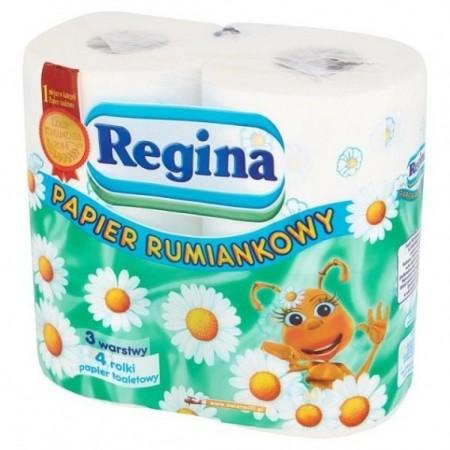 Regina papier toaletowy 3 warstwy 4 rolki