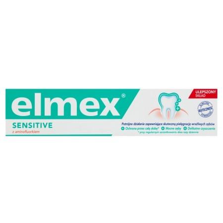 elmex Sensitive z aminofluorkiem pasta 75ml