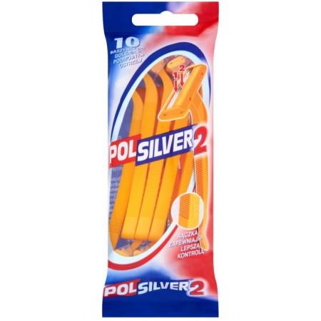 Polsilver 2 Maszynki do golenia 10szt