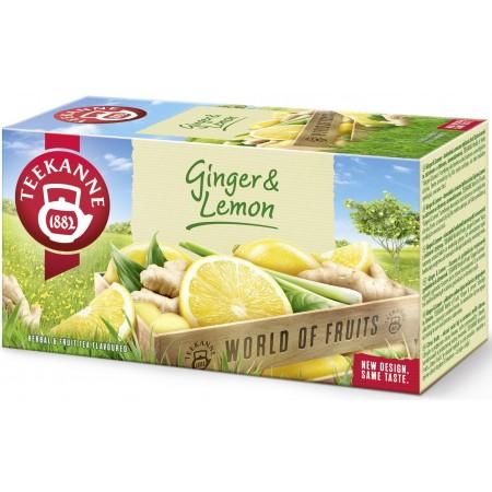 Teekanne Ginger & Lemon herbata