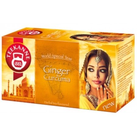 Teekanne Ginger Curcuma herbata
