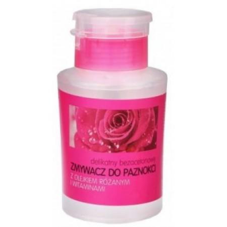 Zmywacz do paznokci z olejkiem różanym 180ml