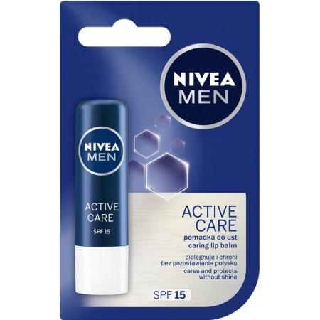 Nivea Men Active pomadka do ust dla mężczyzn 4,8g