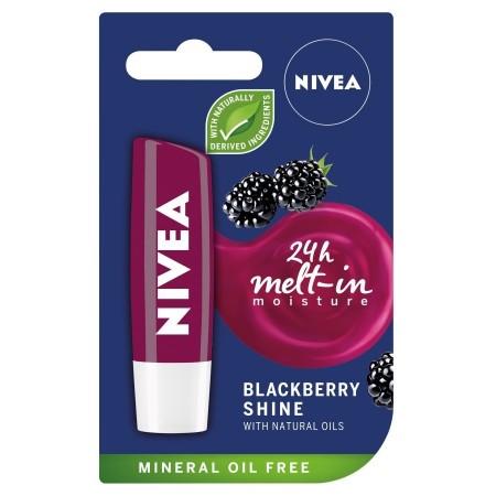 Nivea blackberry shine pomadka do ust 4,8g
