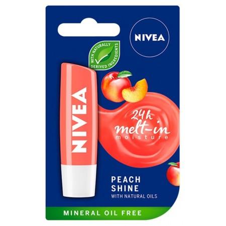 Nivea peach shine pomadka do ust 4,8g
