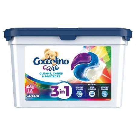 Coccolino Care Color kapsułki do prania 18szt