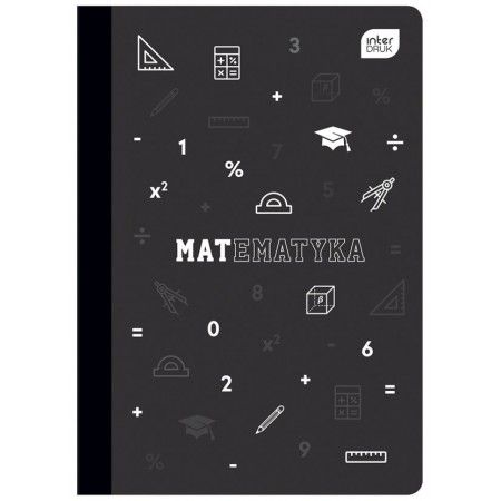 Zeszyt do matematyki INTERDRUK A5 60 str. 1szt.