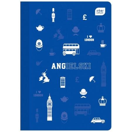 Zeszyt do angielskiego INTERDRUK A5 60 str. 1 szt.