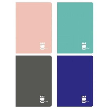 Zeszyt INTERDRUK A5 60 kartek kratka One Color