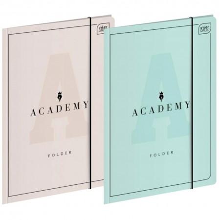 Teczka z gumką marki Interdruk z serii Academy, rozmiar A4+