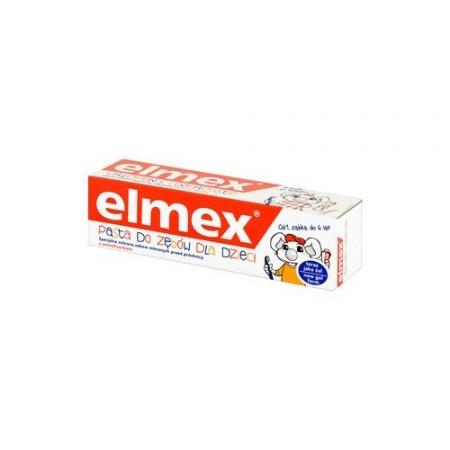 Elmex pasta do zębów dla dzieci do 6 lat 50ml