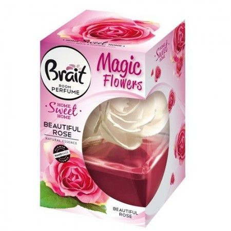 Brait Odświeżacz Magic Flowers kwiat róży 75ml