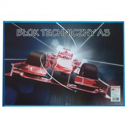 Blok Techniczny A3 1szt