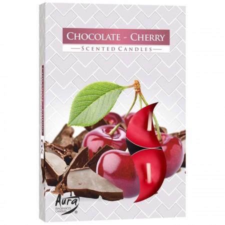 podgrzewacze czekolada wiśnia 6 szt bispol