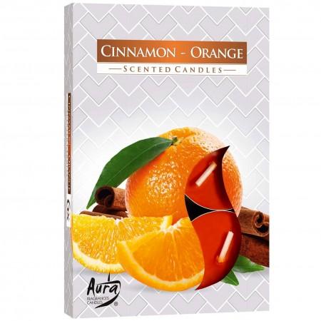 podgrzewacze cynamonowo -pomarańczowe 6 sztuk Bispol
