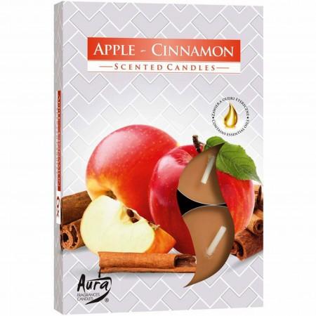 Podgrzewacze jabłko-cynamon 6 sztuk Bispol