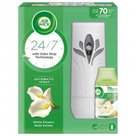 Air Wick Freshmatic zestaw Białe Kwiaty