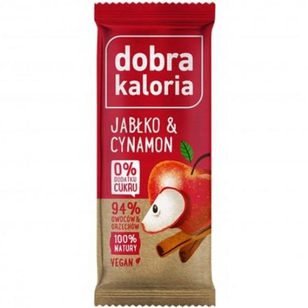 Dobra Kaloria baton jabłko & cynamon 35 gramów x 20 sztuk