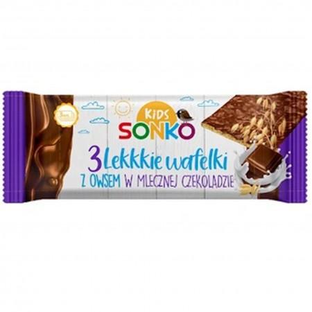Sonko wafelki z owsem w czekoladzie 36g x 11szt