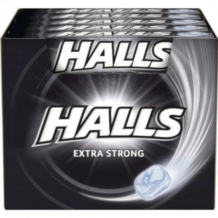 Halls extra strong 33,5g x 20szt