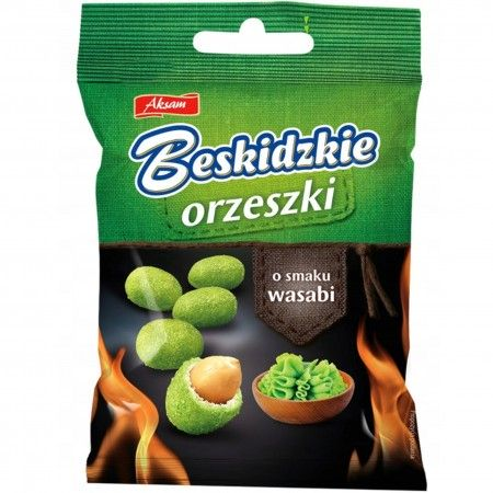 Beskidzkie orzeszki wasabi 70g