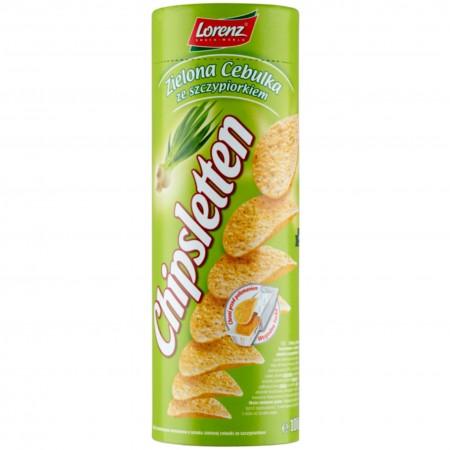 Chipsy Lorenz Chipsletten zielona cebulka 100g