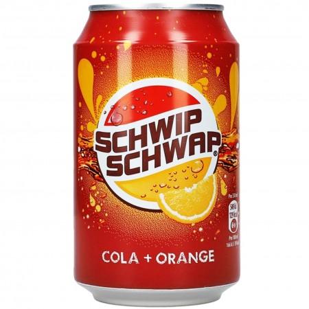 Napój Schwip Schwap puszka 0,33 Cola Orange
