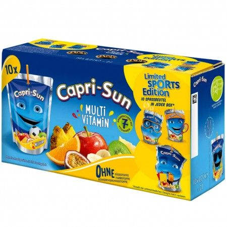 Sok Capri Sun Multi Vitamin 10 x 200 ml