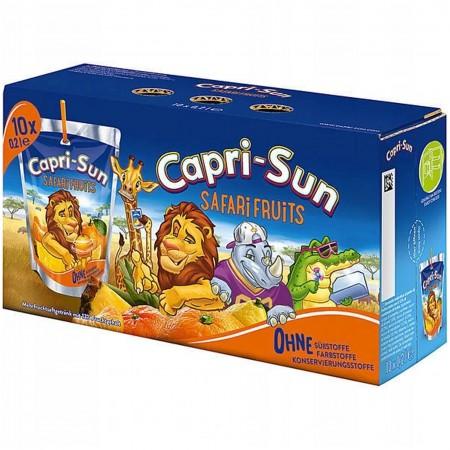 Sok Capri Sun Safari Fruits 10x200 ml