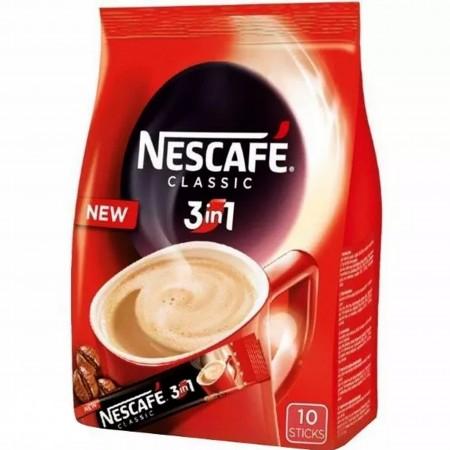 Nescafe 3w1 kawa rozpuszczalna 8g x 10szt